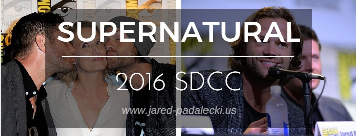 Photos: Supernatural at San Diego Comic-Con