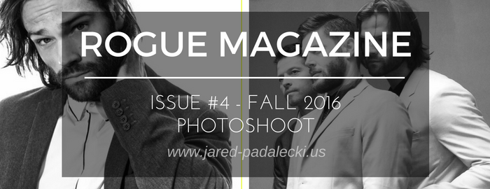Photos: Rogue Magazine Issue 4 Photoshoot